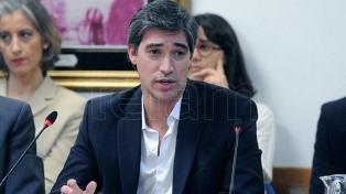 """Adrián Pérez elogió el """"conocimiento, capacidad e integridad"""" del nuevo ministro de Hacienda"""