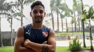 Martín Benítez, con todo listo para el regreso a Independiente