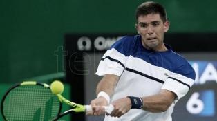 Delbonis ingresó al cuadro principal del Masters 1000 de Roma
