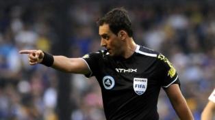 Fernando Rapallini debutó como árbitro principal en la Eurocopa
