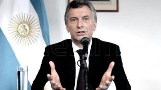 """Macri aseguró que la Argentina está """"lejos"""" de vivir una crisis como la del 2001"""