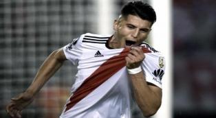 """Palacios: """"Mi idea es quedarme en River un tiempo más"""""""