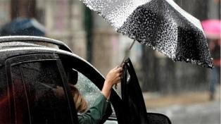 Viernes con lluvias y una máxima de 11 grados en la ciudad de Buenos Aires