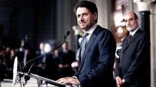 La crisis se muda al Senado con la presencia del primer ministro Conte