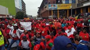 Huelga general por el elevado desempleo y la crisis eléctrica