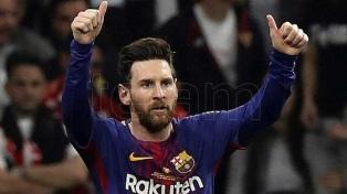 """Messi: """"Dimos una imagen espectacular"""""""