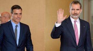 Felipe y Sánchez recibieron a los dos únicos presidentes que viajaron a Europa para el evento