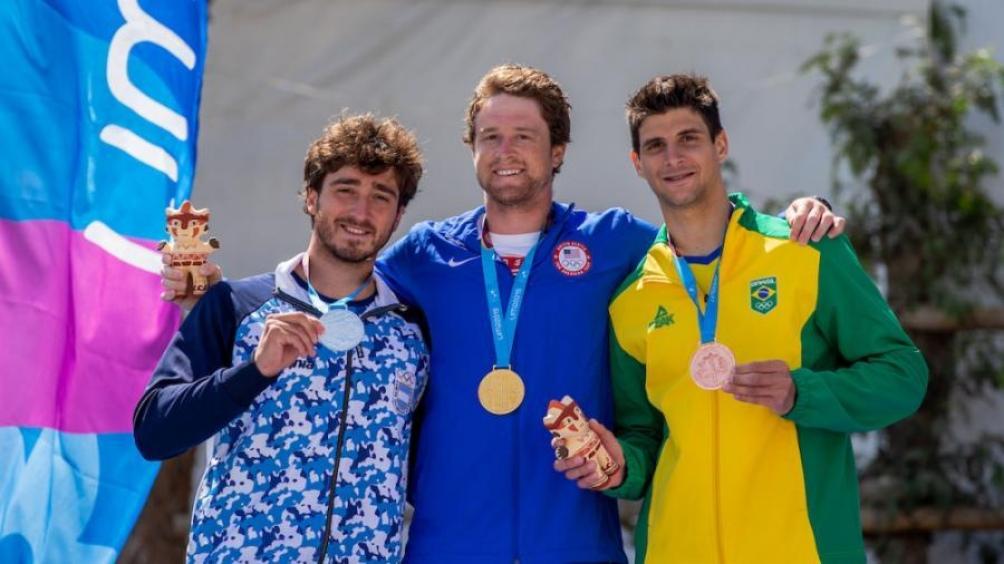 Sebastián Rossi, representante olímpico de canotaje slalom en Londres 2012 y Río de Janeiro 2016