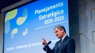 Ministro brasileño cree que sería bueno reducir el arancel externo común del Mercosur a 5 ó 6%