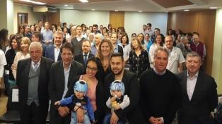 Distinguen a la Fundación Hospitalaria donde separaron a bebés siameses