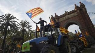 """Procesaron por """"terrorismo"""" a 13 activistas independentistas de Cataluña"""
