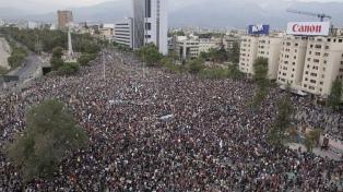 Un millón de personas en la demostración más impactante desde la vuelta de la democracia