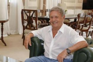 Eduardo Duhalde volvió a la Casa Rosada para reunirse con Gustavo Béliz
