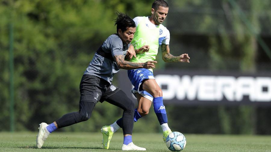 Gago regresó a los entrenamientos en Vélez