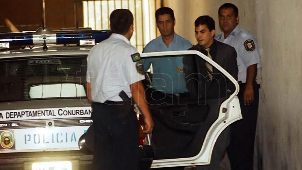 Fabián Tablado, detenido. Foto archivo.