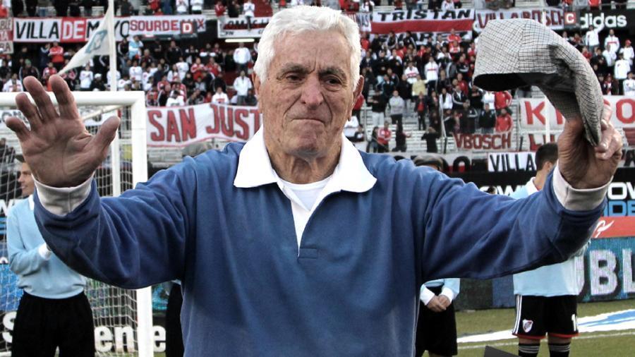 A los 93 años, falleció el gran Amadeo Carrizo
