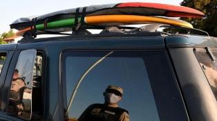 Detienen en Ostende al joven surfer que incumplió el aislamiento obligatorio