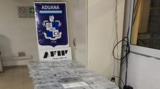 Decomisan 269 kilos de cocaína escondidos en camiones térmicos