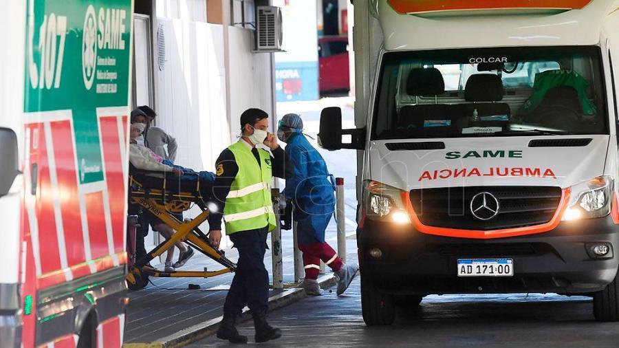 Son 109 los fallecidos por coronavirus en Argentina y el 71,8% de esos casos son varones