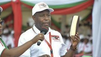 Evariste Ndayishimiye, candidato a presidente por CNDD - FDD