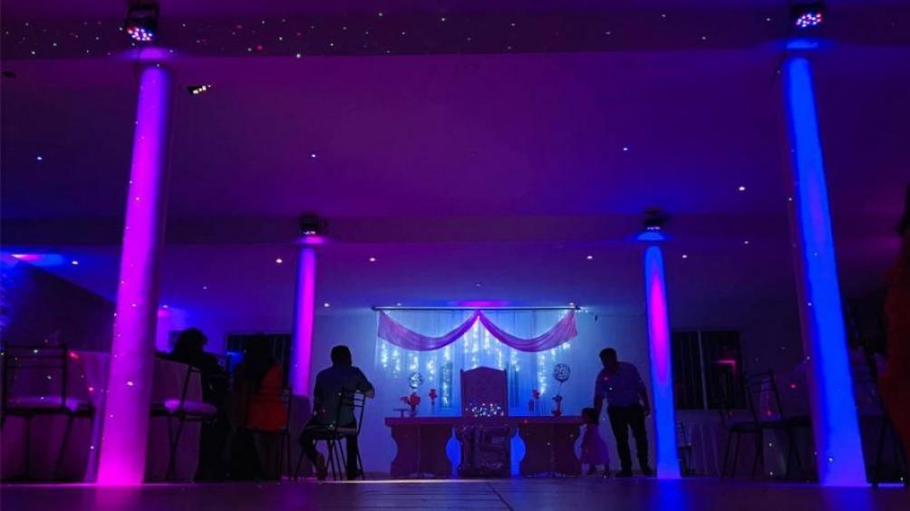 La fiesta se realizó en el salón Alma de Hornero, en la localidad de Moreno.