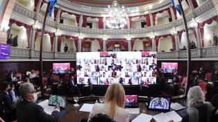El Senado bonaerense sesionó por primera vez por videoconferencia