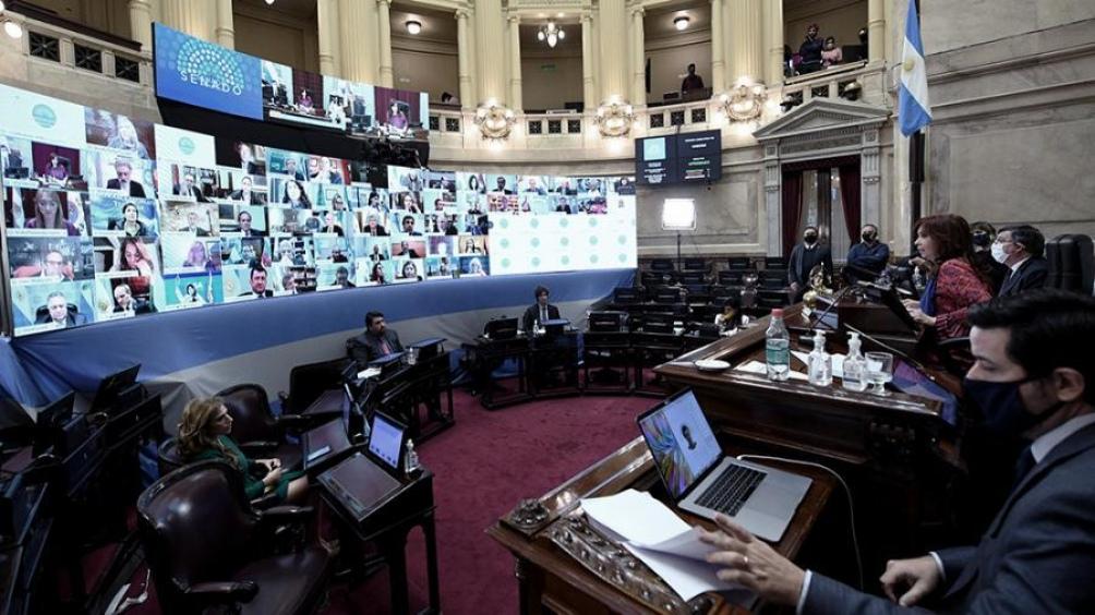El Senado debate alquileres, educación a distancia y sociedades simplificadas