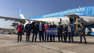 La Cruz Roja entregó las primeras donaciones de la campaña impulsada por empresas argentinas