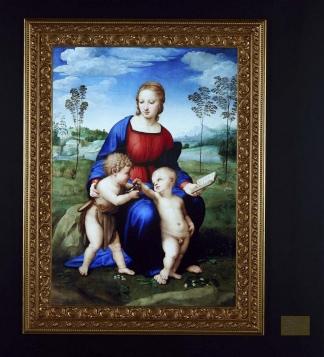 Madonna del Cardelli, de Rafaelle Sanzio