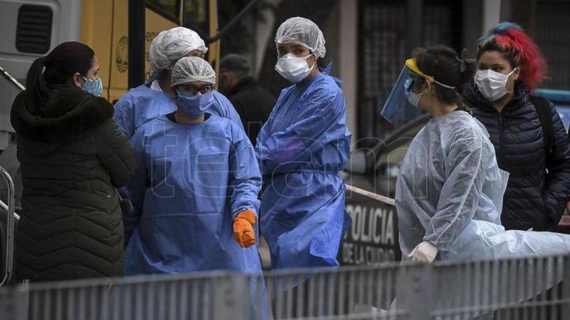Suman 664 las víctimas fatales y 22.794 los infectados por coronavirus en Argentina - Télam - Agencia Nacional de Noticias