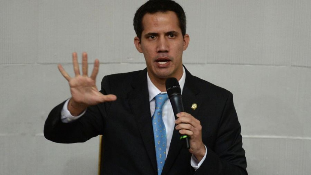 Presidente de la Asamblea Nacional venezolana, Juan Guaidó.