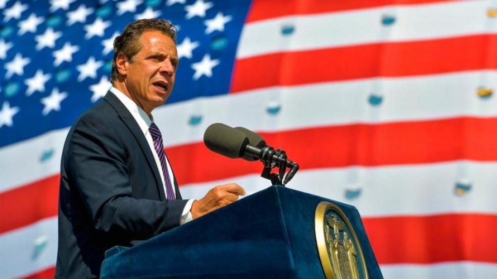 Andrew Cuomo, gobernador de Nueva York y acusado de acoso sexual