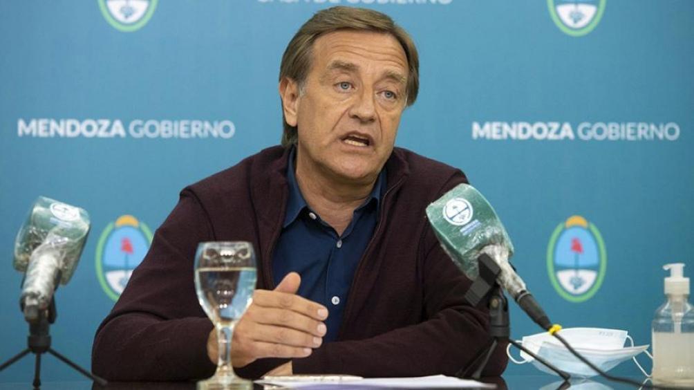 """El gobernador mendocino Rodolfo Suárez afirmó que es """"uno de los principales proyectos es la activación de Vaca Muerta""""."""