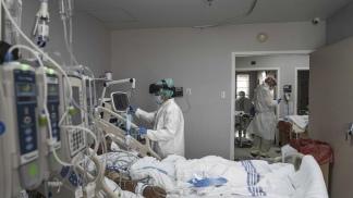 Del total de pacientes internados el 47% necesitó Asistencia Respiratoria Mecánica.