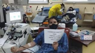 Vida después de la muerte: los hijos del primer enfermero fallecido por coronavirus donaron plasma