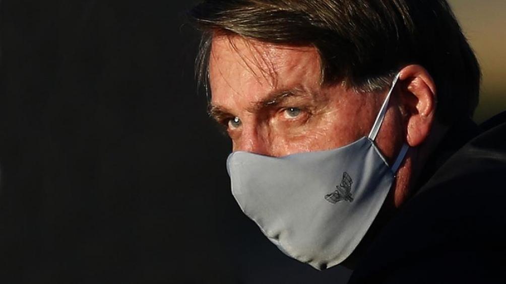 """Al comienzo de la pandemia, el presidente brasileño calificó al coronavirus como """"una gripecita""""."""