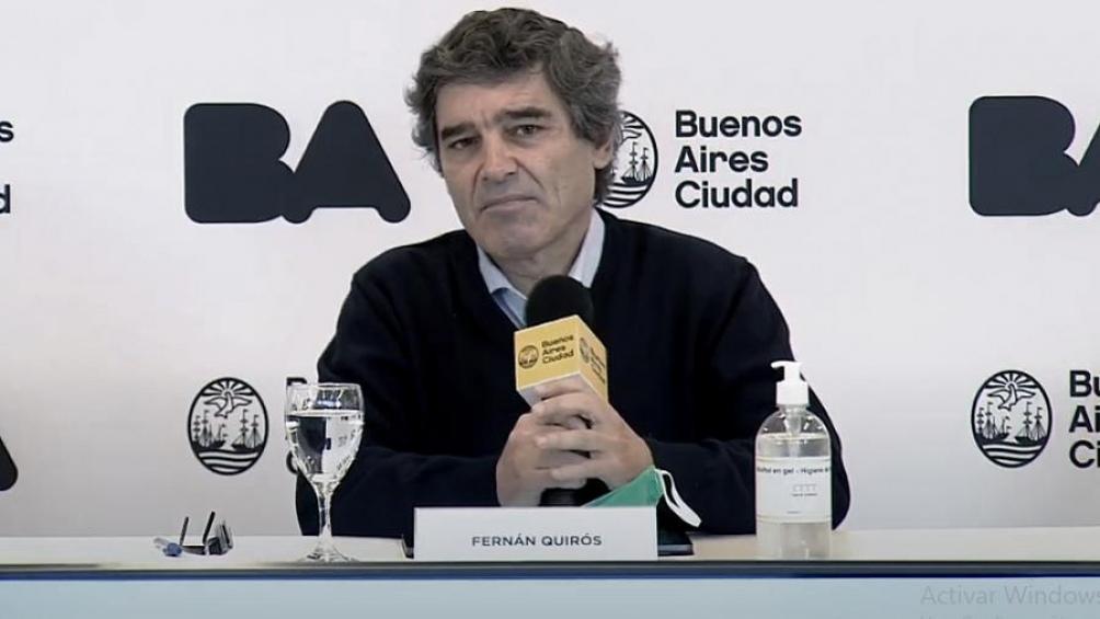 El ministro Fernán Quirós