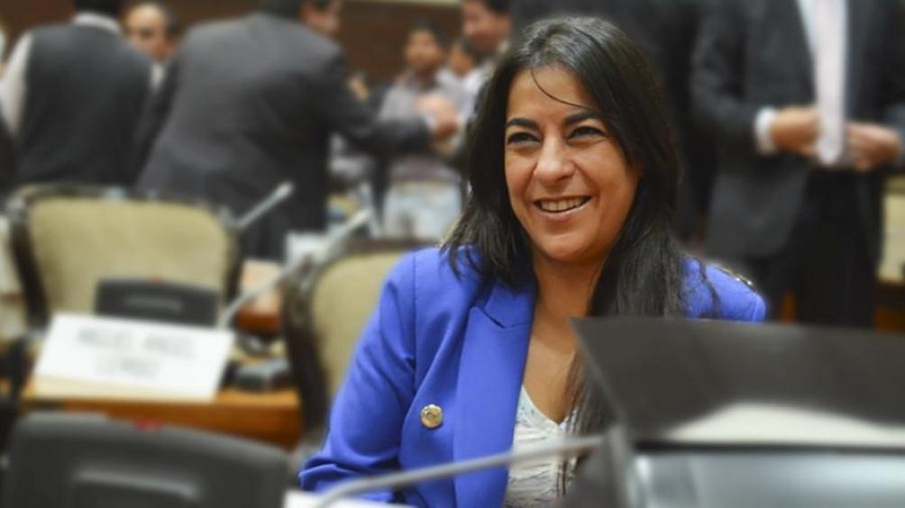 """La legisladora jujeña sostuvo que esa convocatoria es """"una elección criminal""""."""
