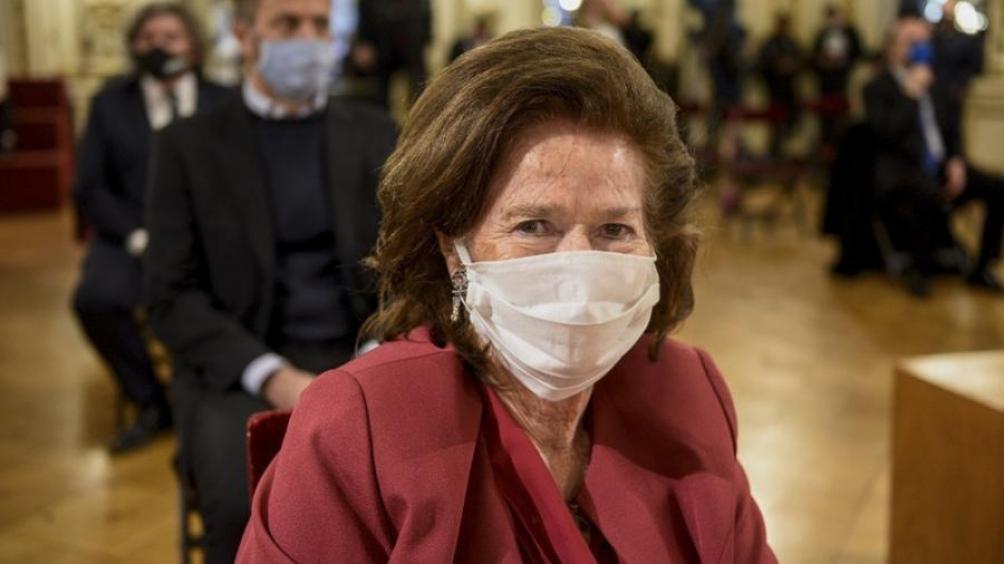 Elena Highton, la vicepresidenta de la Corte participó de la presentación.