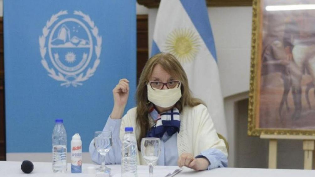 La gobernadora Alicia Kirchner.