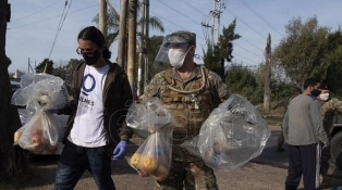 Las Fuerzas Armadas realizaron más de 10.000 tareas de apoyo a la comunidad
