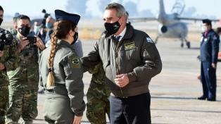 Rossi destacó un aumento en los operativos de logística de las FF.AA.