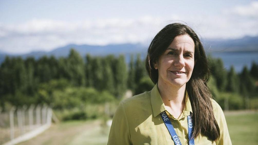 Josefina Péres, ingeniera y  subgerenta de la jefatura de proyectos de la Gerencia de Proyectos Satelitales de la Conae