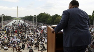 Los últimos asesinatos racistas, en primera fila en el aniversario de la marcha a Washington de King