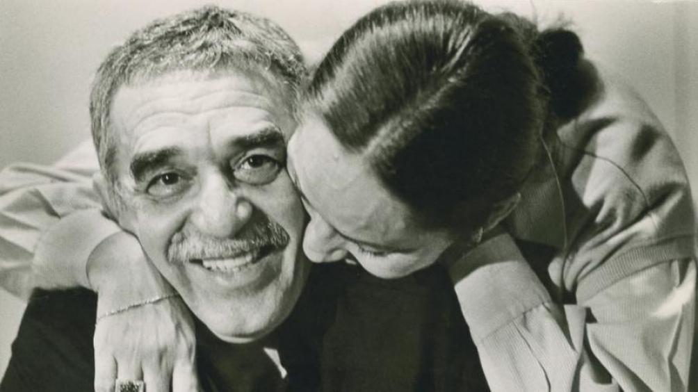 Gabriel García Márquez y Mercedes Barcha, quien murió recientemente.