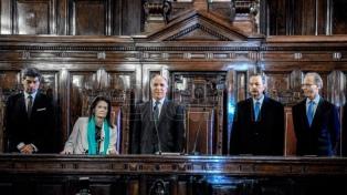 """Para la ministra de Justicia, el fallo de la Corte """"le da la razón al Estado de derecho"""""""
