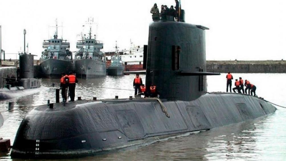 El submarino desapareció en  noviembre de 2017.
