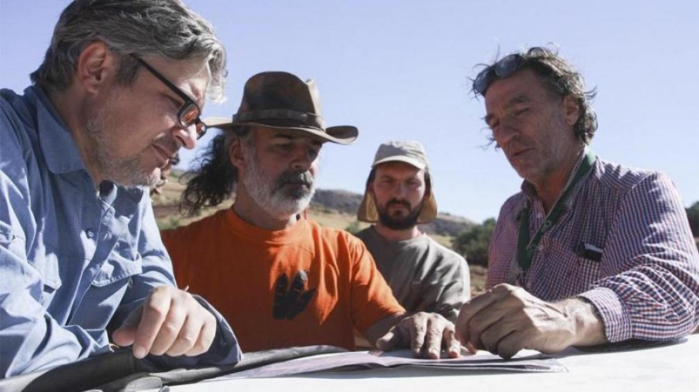 El equipo de especialistas que realizó el descubrimiento fue liderado por Sebastián Apesteguía, paleontólogo