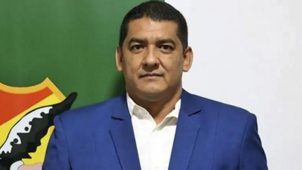 Marcos Rodriguez fue detenido en el palco oficial