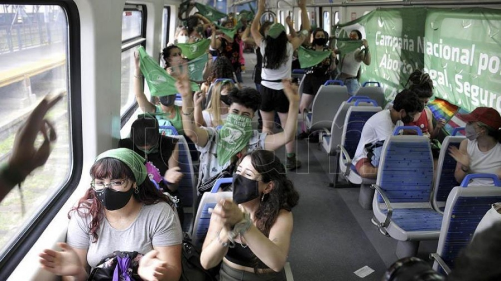 Viaje de La Plata al Congreso